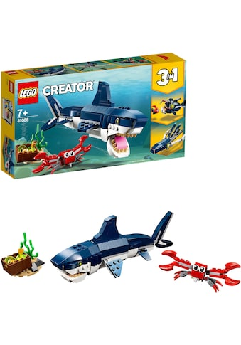 LEGO® Konstruktionsspielsteine »Bewohner der Tiefsee (31088), LEGO® Creator«, (230... kaufen