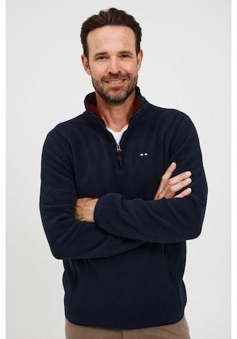 FQ1924 Troyer »Broder 21900117ME«, Modischer Fleece-Troyer mit praktischen Taschen kaufen