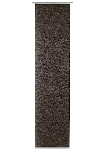Schiebegardine, »Flächenvorhang Natur - optik«, GARDINIA, Klettband 1 Stück kaufen
