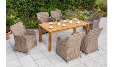MERXX Gartenmöbelset »Lissabon« kaufen