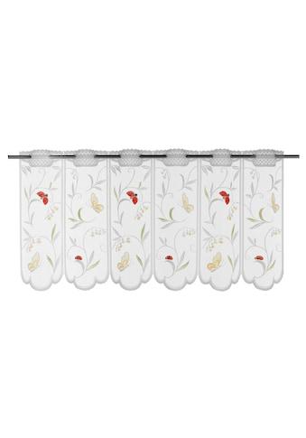 WILLKOMMEN ZUHAUSE by ALBANI GROUP Panneaux »Schmetterling«, Jacquard-Lamellen-Pannaux kaufen
