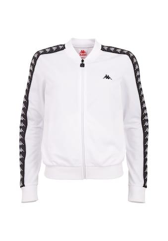 Kappa Trainingsjacke »JOSA«, mit hochwertigem Jacquard Logoband an den Ärmeln kaufen