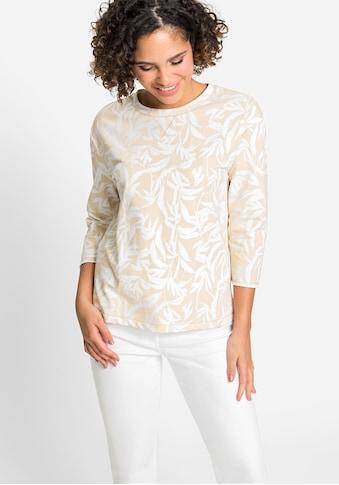 Olsen Sweatshirt, mit Bambusprint kaufen
