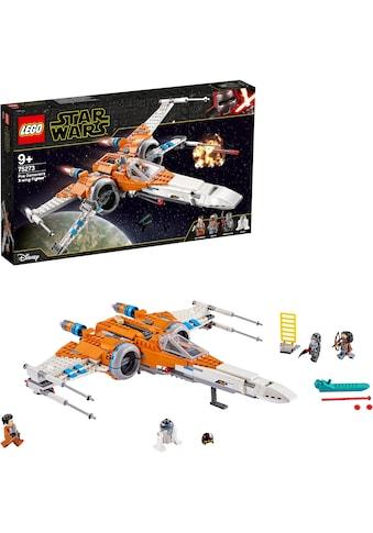 """LEGO® Konstruktionsspielsteine """"Poe Damerons X - Wing Starfighter™ (75273), LEGO® Star Wars™"""", Kunststoff, (761 - tlg.) kaufen"""