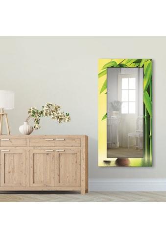 Artland Wandspiegel »Spa Stillleben«, gerahmter Ganzkörperspiegel mit Motivrahmen,... kaufen