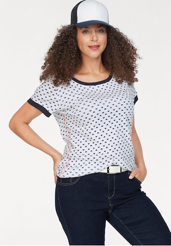 KangaROOS T-Shirt, im sportlichen Allover-Print kaufen