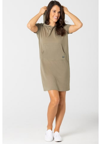 SUPER.NATURAL Sommerkleid »W HOODED DRESS«, toller Merino-Materialmix kaufen