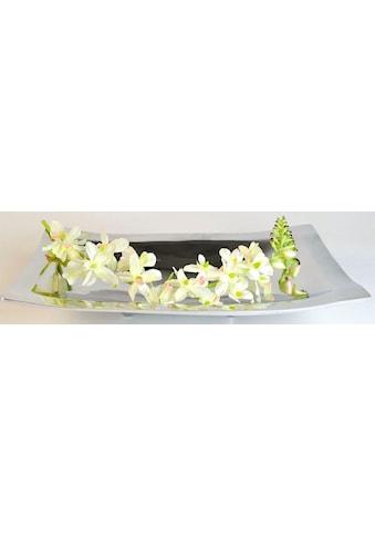 ARTRA Dekoschale »Aluminiumschale 'Bowl with Feet' -Dekoration, Tischschale« kaufen