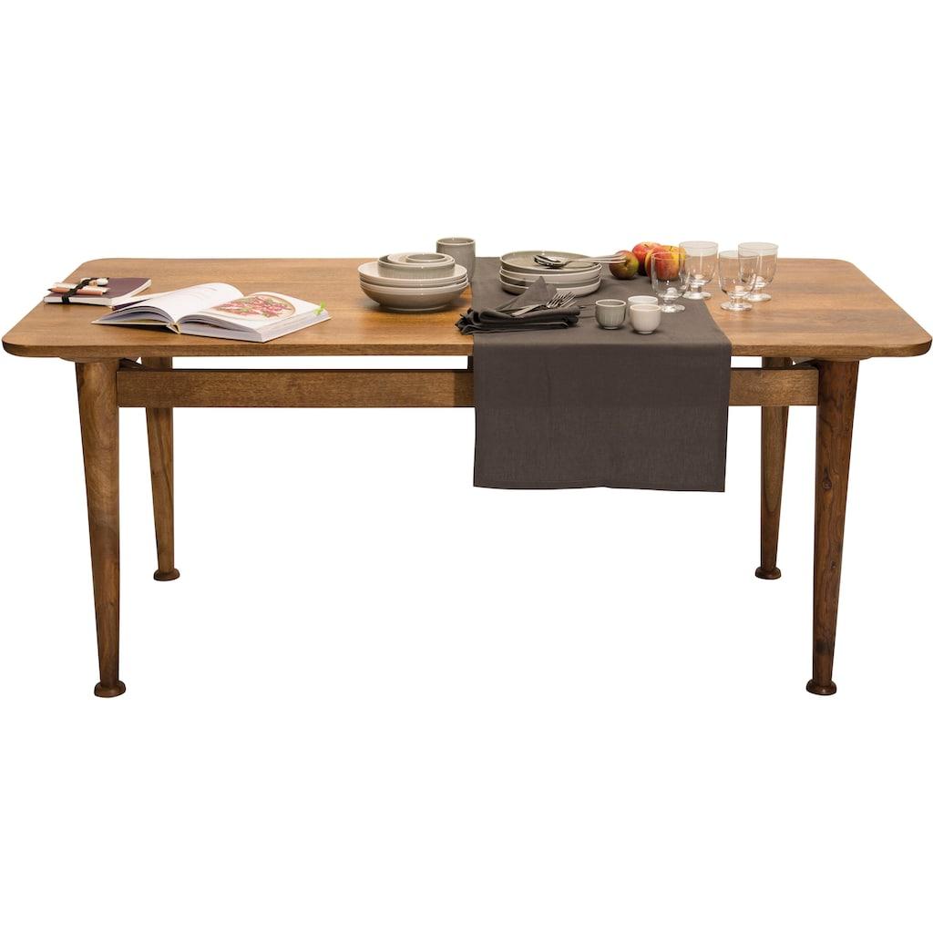 TOM TAILOR Esstisch »T-WESTCOAST TABLE LARGE«, aus Mangoholz, Breite 180 cm