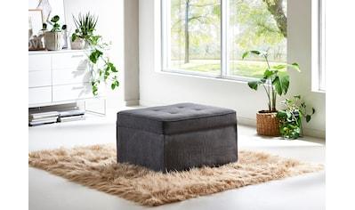 ATLANTIC home collection Schlafhocker, wandelbar zum Loungesessel, Relaxliege oder... kaufen