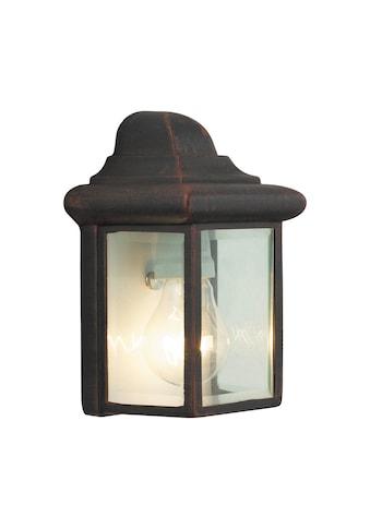 Brilliant Leuchten Newport Außenwandleuchte rostfarbend kaufen