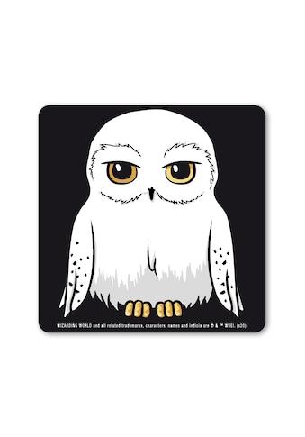 LOGOSHIRT Glasuntersetzer »Harry Potter - Hedwig«, mit lizenziertem Print kaufen