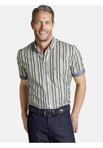 Charles Colby Kurzarmhemd »OWAIN«, edles Streifenhemd kaufen