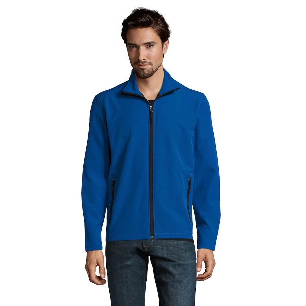 SOLS Softshelljacke »Herren Race Softshell-Jacke mit durchgehendem Reißverschluss, wasserabweisend«