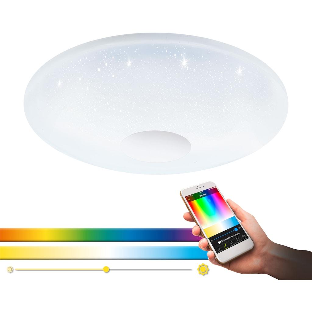 EGLO LED Deckenleuchte »VOLTAGO-C«, LED-Board, Neutralweiß-Tageslichtweiß-Warmweiß-Kaltweiß, EGLO CONNECT, Steuerung über APP + Fernbedienung, BLE, CCT, RGB