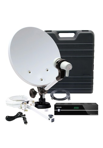 TELESTAR SAT-Receiver »Camping-Satanlage im Koffer mit HD 5 kompakt«, (WLAN), mit viel... kaufen
