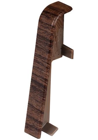 EGGER Zwischenstücke »Eiche dunkelbraun«, Verbindungselement für 6cm EGGER Sockelleiste, 2 Stk. kaufen