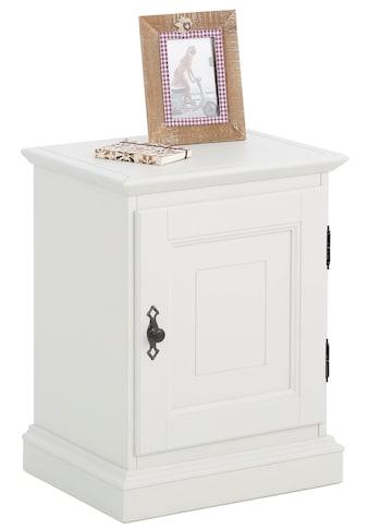 Premium collection by Home affaire Nachtkonsole »Kodia«, aus massiver Buche und... kaufen