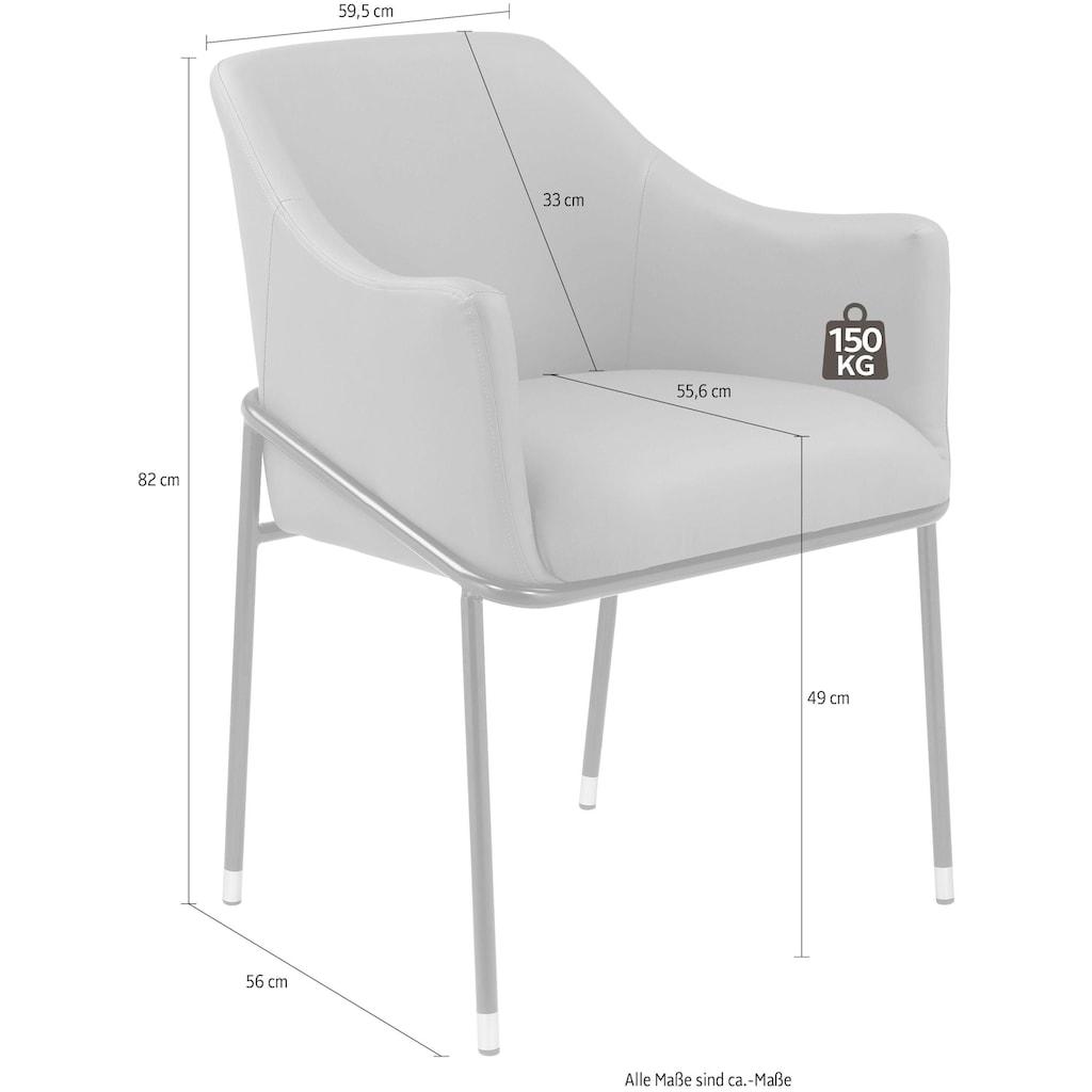 andas Esszimmerstuhl »Ikast«, 2er Set, in unterschiedlichen Bezugsqualitäten und Farbvarianten, Design by Morten Georgsen