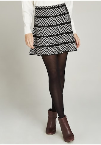 Apricot Strickrock »Chevron Flair Knit Skirt« kaufen