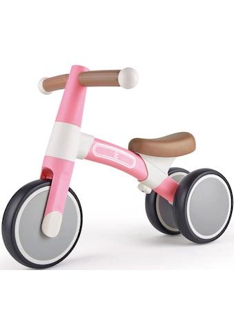 Hape Dreirad »Mein erstes Lauf-Dreirad, Rosa«, mit leichtem Aluminiumrahmen kaufen