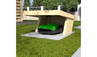 WEKA Mähroboter - Garage BxTxH: 86x124x54 cm kaufen