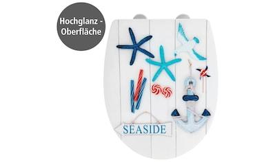 WENKO WC - Sitz »Seaside High Gloss« kaufen