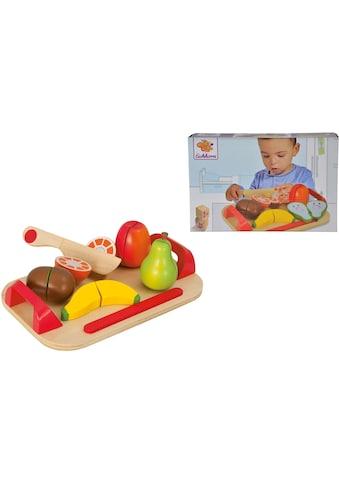 Eichhorn Spiellebensmittel »Holzfrüchte auf Brett« kaufen