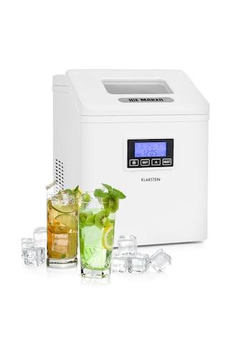 Klarstein LCD Eiswürfelmaschine Klareis 15 - 20kg/24h »Clearcube« kaufen