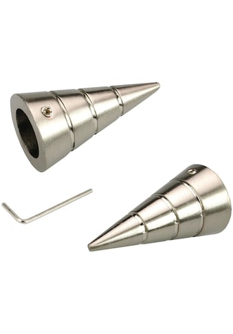 Liedeco Gardinenstangen-Endstück »Kegel«, für Gardinenstangen Ø 16 mm kaufen