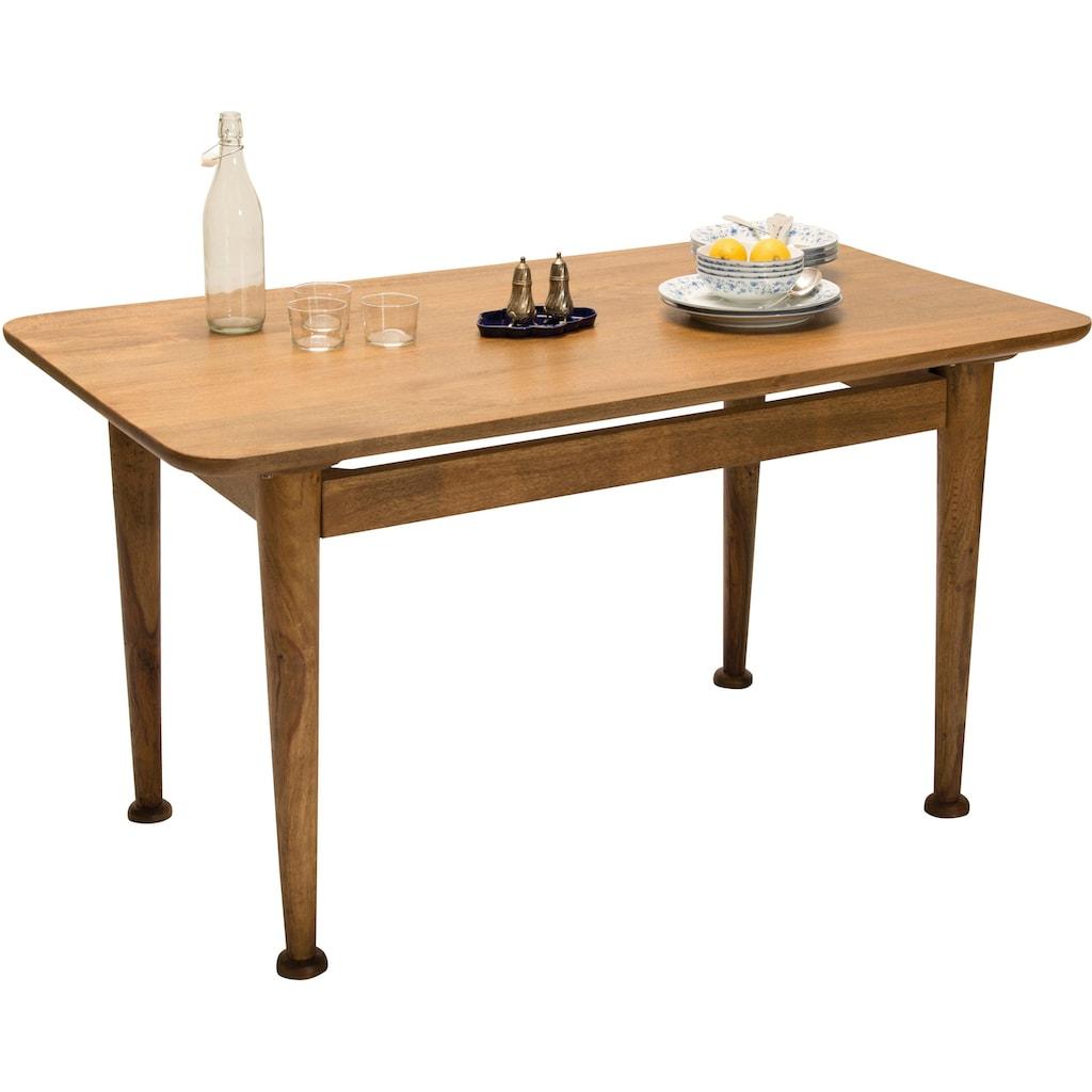 TOM TAILOR Esstisch »T-WESTCOAST TABLE SMALL«, aus Mangoholz, Breite 140 cm