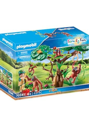 Playmobil® Konstruktions-Spielset »Orang Utans im Baum (70345), Family Fun«, ; Made in... kaufen