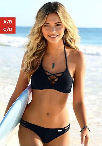 Venice Beach Triangel-Bikini, mit Zierschnürungen kaufen