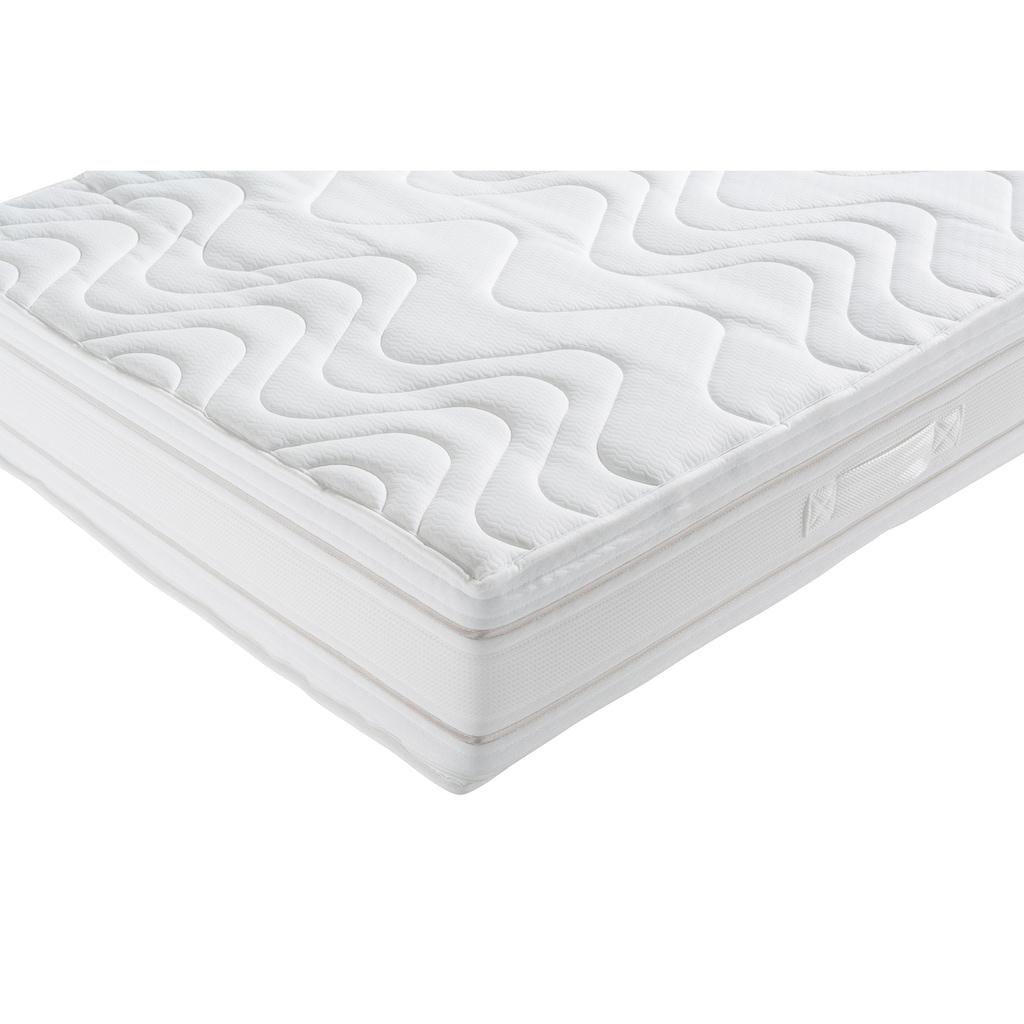 Schlaf-Gut Kaltschaummatratze »Medisan DeLuxe KS«, 24 cm cm hoch, Raumgewicht: 35 kg/m³, (1 St.), Getestete Qualität - natürlich wirksam gegen Milben!