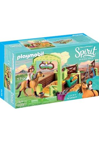Playmobil® Konstruktions-Spielset »Pferdebox Lucky & Spirit (9478), Spirit Riding... kaufen