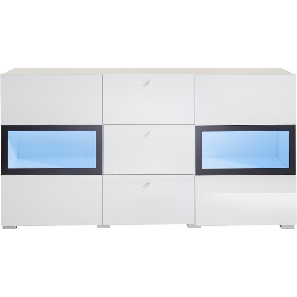 TRENDMANUFAKTUR Sideboard »Baros«, Breite 132 cm
