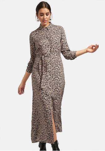 Emilia Lay Abendkleid »Hemdblusenkleid«, mit Bindegürtel kaufen