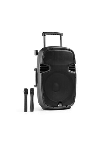 Malone Mobiler Aktiver PA Lautsprecher Trolley 900W Bluetooth USB kaufen