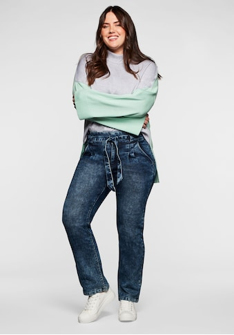 Sheego Gerade Jeans, im Moonwashed-Look kaufen