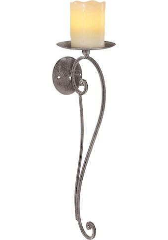 Ambiente Haus Kerzenhalter, Höhe 49 cm, Kerzen-Wandleuchter, Kerzenhalter,... kaufen