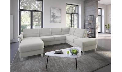 sit&more Wohnlandschaft, wahlweise mit Bettfunktion und Stauraum kaufen