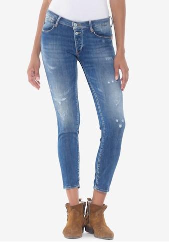 Le Temps Des Cerises Ankle-Jeans »PULPC FINO«, mit coolen Used- und Destroyed-Effekten kaufen