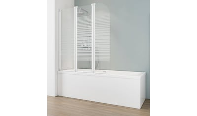 SCHULTE Badewannenfaltwand »Wega«, 3 - tlg., teilgerahmt, BxH: 124,5 x 140 cm kaufen