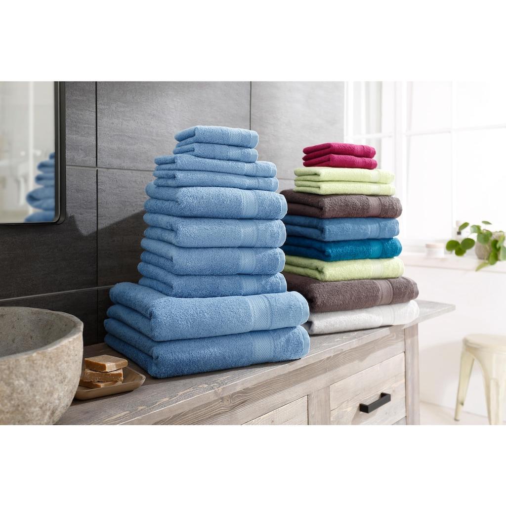 my home Handtuch Set »Moni«, in Premium-Qualität