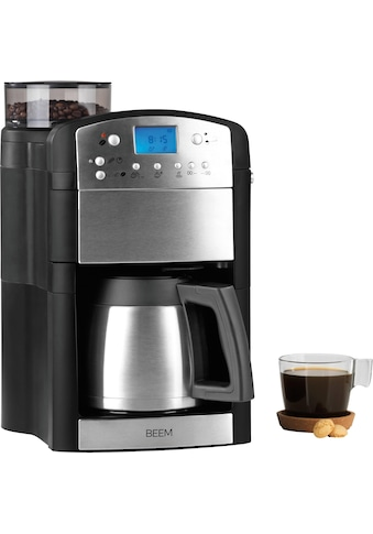 BEEM Kaffeemaschine mit Mahlwerk »Fresh-Aroma-Perfect Thermolux«, goldfarbener... kaufen