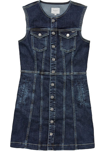 Pepe Jeans Jeanskleid »LINEA«, mit aufgesetzten Brusttaschen kaufen