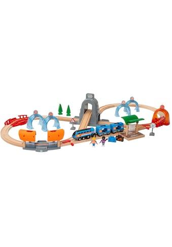 BRIO® Spielzeug-Eisenbahn »Smart Tech Sound Action Tunnel Reisezug«, FSC®-Holz aus... kaufen