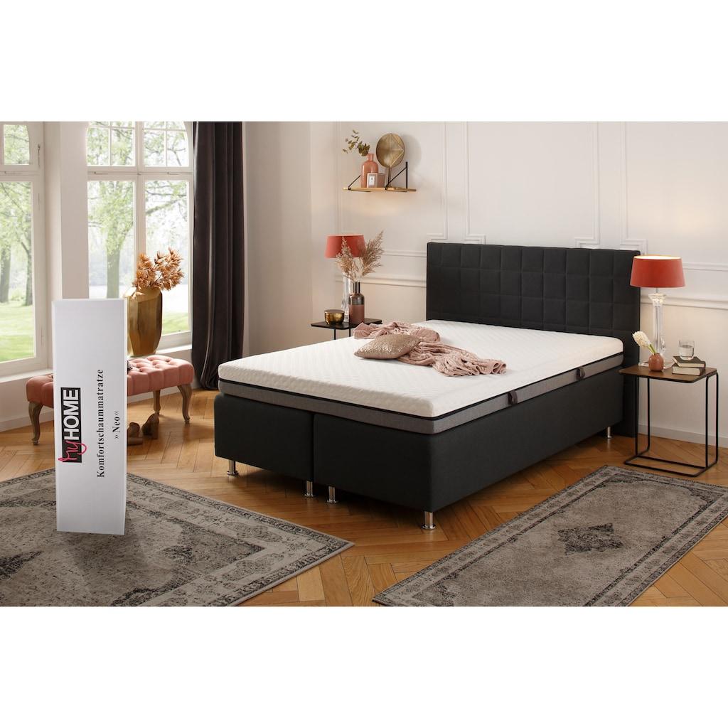 my home Komfortschaummatratze »Neo«, 16 cm cm hoch, (1 St.), Wendematratze mit zwei unterschiedlich festen Liegeseiten