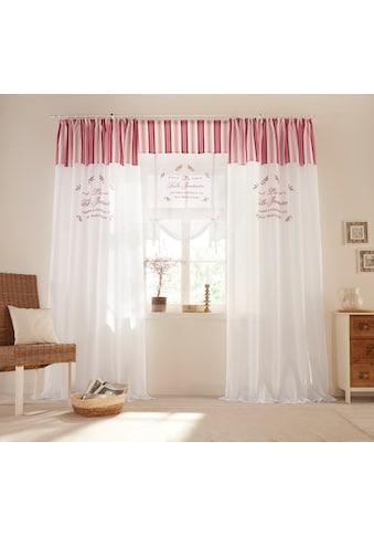 Home affaire Raffrollo »Belle«, mit Stangendurchzug kaufen