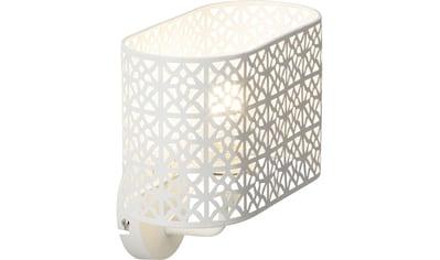 Brilliant Leuchten Nour Wandleuchte weiß kaufen